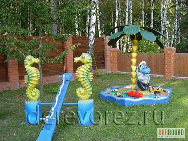 Как украсить двор детского сада своими руками